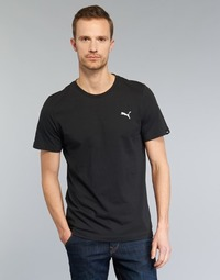 Clothing Men Short-sleeved t-shirts Puma ESS TEE Black