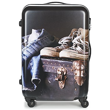 Bags Hard Suitcases David Jones ACHIDATA 84L Multicolour