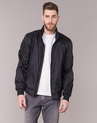 Clothing Men Jackets Geox LEMI Black