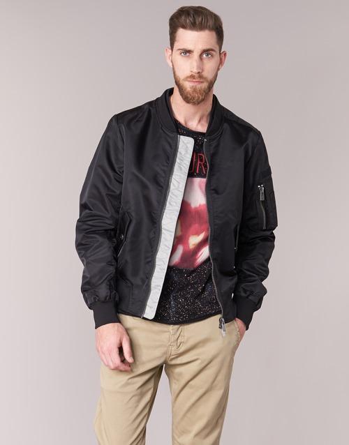 Clothing Men Jackets Eleven Paris JUXY Black