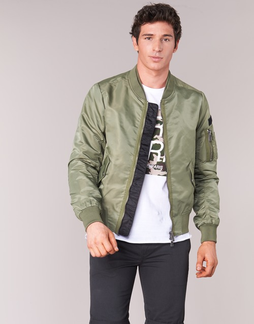 Clothing Men Jackets Eleven Paris JUXY Kaki