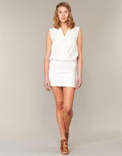 Clothing Women Short Dresses Le Temps des Cerises SHERY White