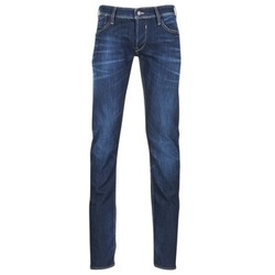 Clothing Men straight jeans Le Temps des Cerises 711 Blue / Dark