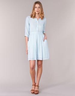 Clothing Women Short Dresses Molly Bracken BLECH Blue
