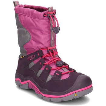 Shoes Children Snow boots Keen Winterport II Pink
