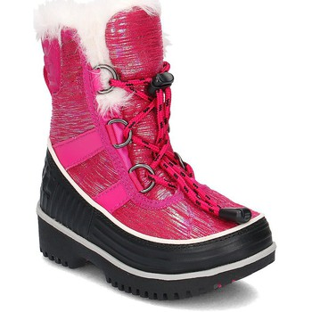 Shoes Children Hi top trainers Sorel Tivoli II Black-Pink