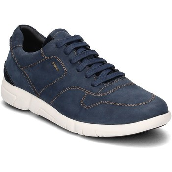 Shoes Men Low top trainers Geox Brattley Navy blue