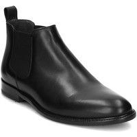 Shoes Men Mid boots Gino Rossi Henry Black