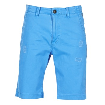 Clothing Men Shorts / Bermudas Petrol Industries CHINO Blue