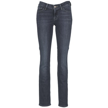 Clothing Women straight jeans Levi's 714 STRAIGHT West / Coast / Wonder