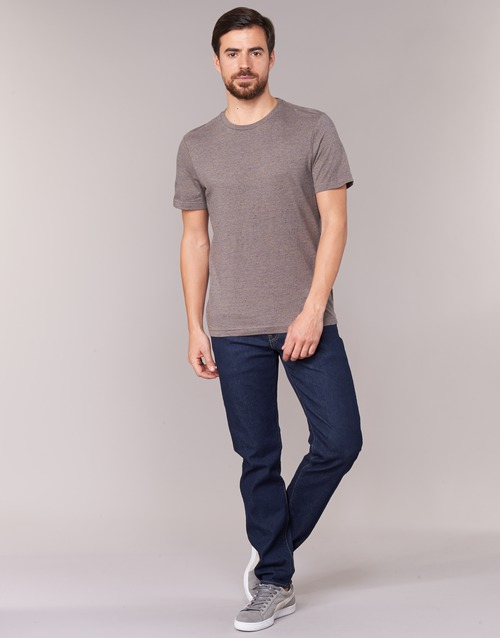 Clothing Men straight jeans Levi's 502 REGULAR TAPERED Chain / Rinse