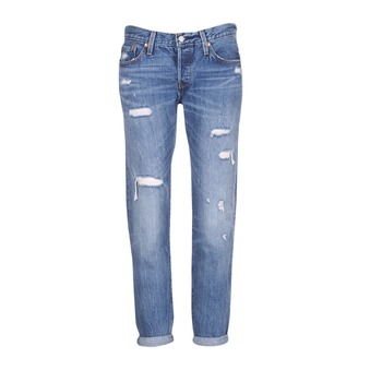 Clothing Women Boyfriend jeans Levi's 501 CT Radio / Star