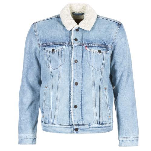 Clothing Men Denim jackets Levi's TYPE 3 SHERPA TRUCKER Cusack / Trucker