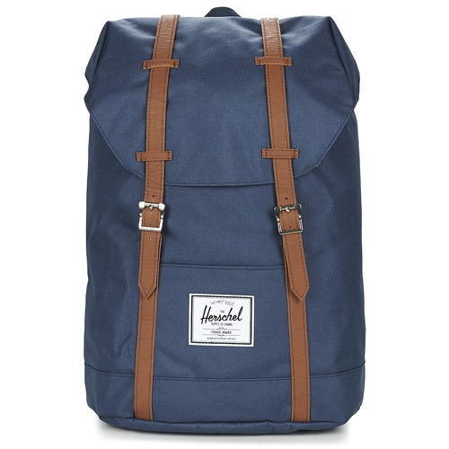 Bags Rucksacks Herschel RETREAT Marine / Brown