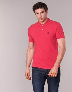 Clothing Men short-sleeved polo shirts Selected ARO Red