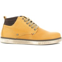 Shoes Men Hi top trainers Wrangler WM162040 Ankle Man Camel
