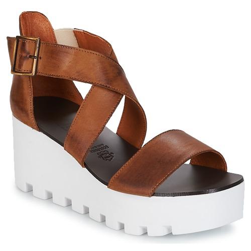 Shoes Women Sandals Sweet Lemon SUBWAY Brown