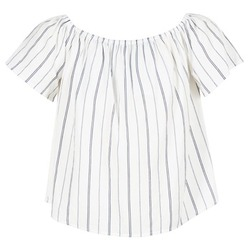Clothing Women Tops / Blouses Betty London GOYPILA ECRU