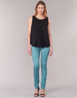 Clothing Women 5-pocket trousers Les P'tites Bombes BEMBRELA Blue