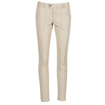 Clothing Women chinos Les P'tites Bombes CHANTU BEIGE