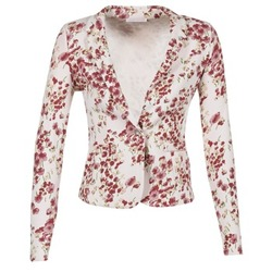 Clothing Women Jackets / Blazers Les P'tites Bombes OSIDOULE White / Red