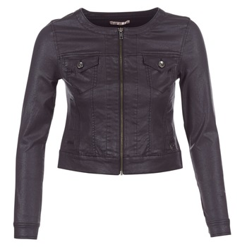 Clothing Women Denim jackets Les P'tites Bombes OMILATE Black