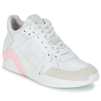 Shoes Women Hi top trainers Serafini CHICAGO White / Pink