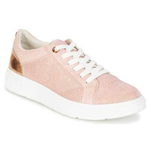 Shoes Women Low top trainers S.Oliver EXIMATE Pink