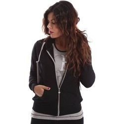 Clothing Women Track tops Key Up SIX2 0001 Sweatshirt Women Black Black
