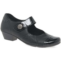 Shoes Women Heels Remonte Dorndorf Luna Womens Casual Shoes black