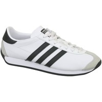 Shoes Children Low top trainers adidas Originals Country OG J White