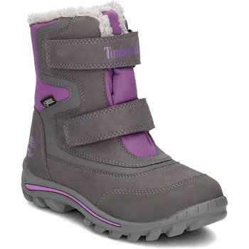 Shoes Children Boots Timberland Chillberg 2 Grey