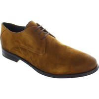 Derby Shoes Frank Wright Stringer mfw534 men's Tan Lace Up washed suede derby Shoes new