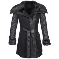 Clothing Women coats Morgan GEFROU Black