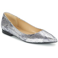 Shoes Women Flat shoes Betty London GRACE Silver / Python