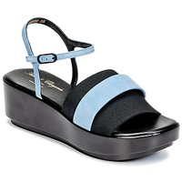 Shoes Women Sandals Robert Clergerie PODDY Black / Blue