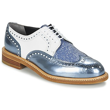 Shoes Women Derby Shoes Robert Clergerie ROELTM Blue / Metallic / White