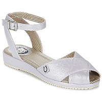 Shoes Women Sandals Miss L'Fire HARLOW Silver