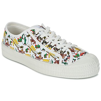 Shoes Women Low top trainers Miss L'Fire NOVESTA White / Multicolour