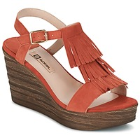Shoes Women Sandals Spiral CARLA Orange