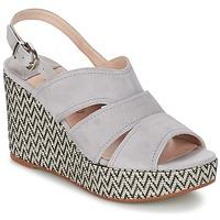 Shoes Women Sandals Spiral PAULA Grey