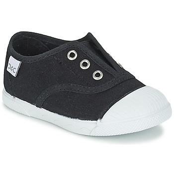 Shoes Children Low top trainers Citrouille et Compagnie RIVIALELLE Black