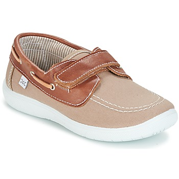 Shoes Boy Boat shoes Citrouille et Compagnie GASCATO Taupe