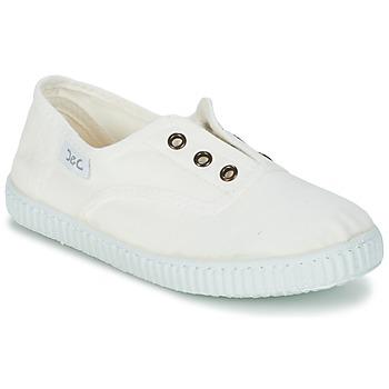 Shoes Children Low top trainers Citrouille et Compagnie GAMBOUTA White