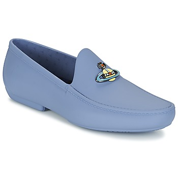 Shoes Men Loafers Vivienne Westwood ENAMELLED ORB MOC Blue