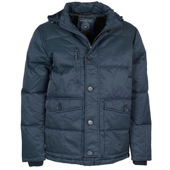Clothing Men Parkas Freeman T.Porter MELLOW COTTON WAX Marine