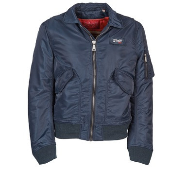 Clothing Men Jackets Schott 210100 Marine