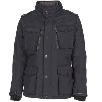 Clothing Men Parkas Schott FIELD Black