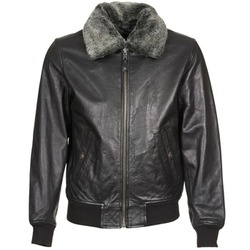 Clothing Men Leather jackets / Imitation leather Schott LC 930 D Black