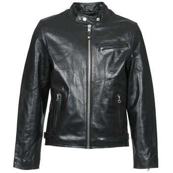 Clothing Men Leather jackets / Imitation leather Schott LC 940 D Black